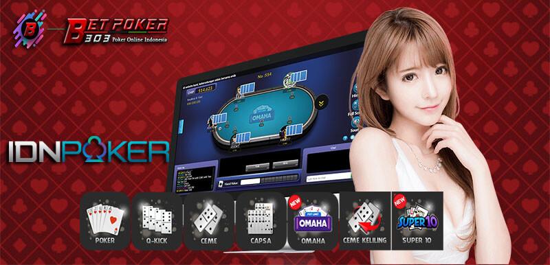 Judi Poker Online Situs IDN Deposit Bank Mega